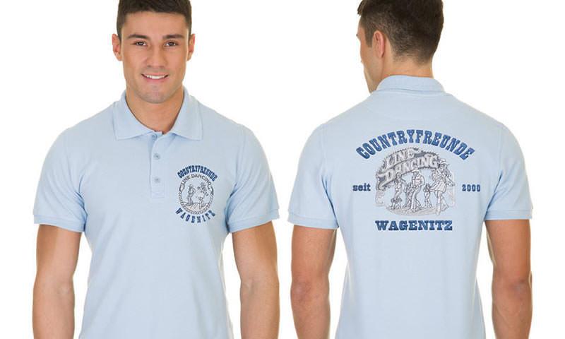 timeless design 667b2 9f69f Polo-Shirts mit Vereinslogo besticken & bedrucken lassen