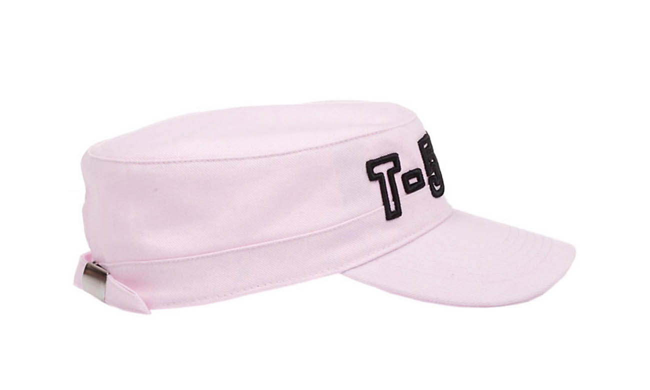 Armycaps T-500 Rosa Seitlich Links