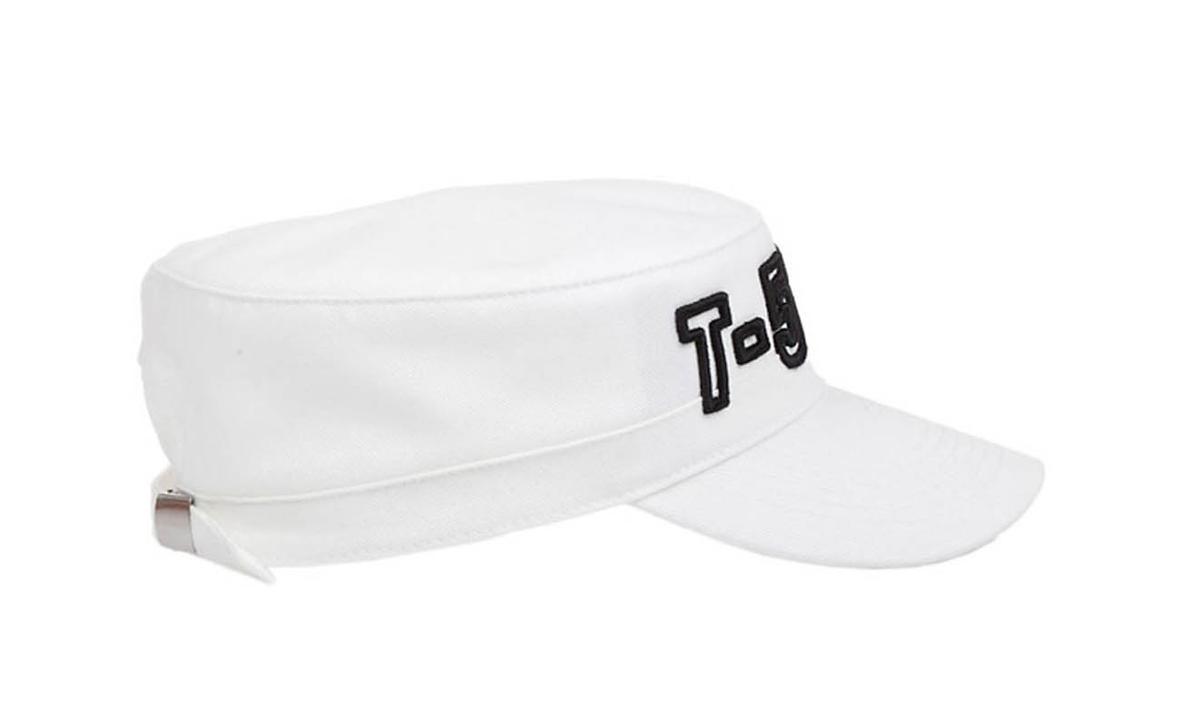 Armycaps T-500 Weiss Seitlich Links