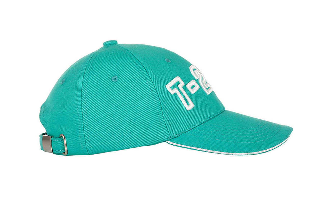 Baseballcaps T-200 Mint Seitlich Links