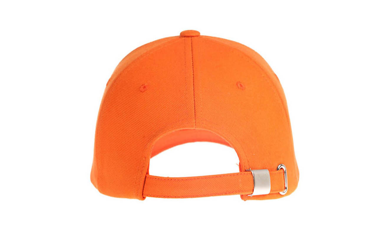 Baseballcaps T-200 Orange Hinten