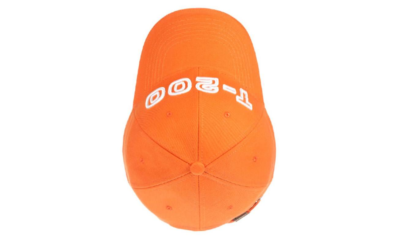 Baseballcaps T-200 Orange Oben