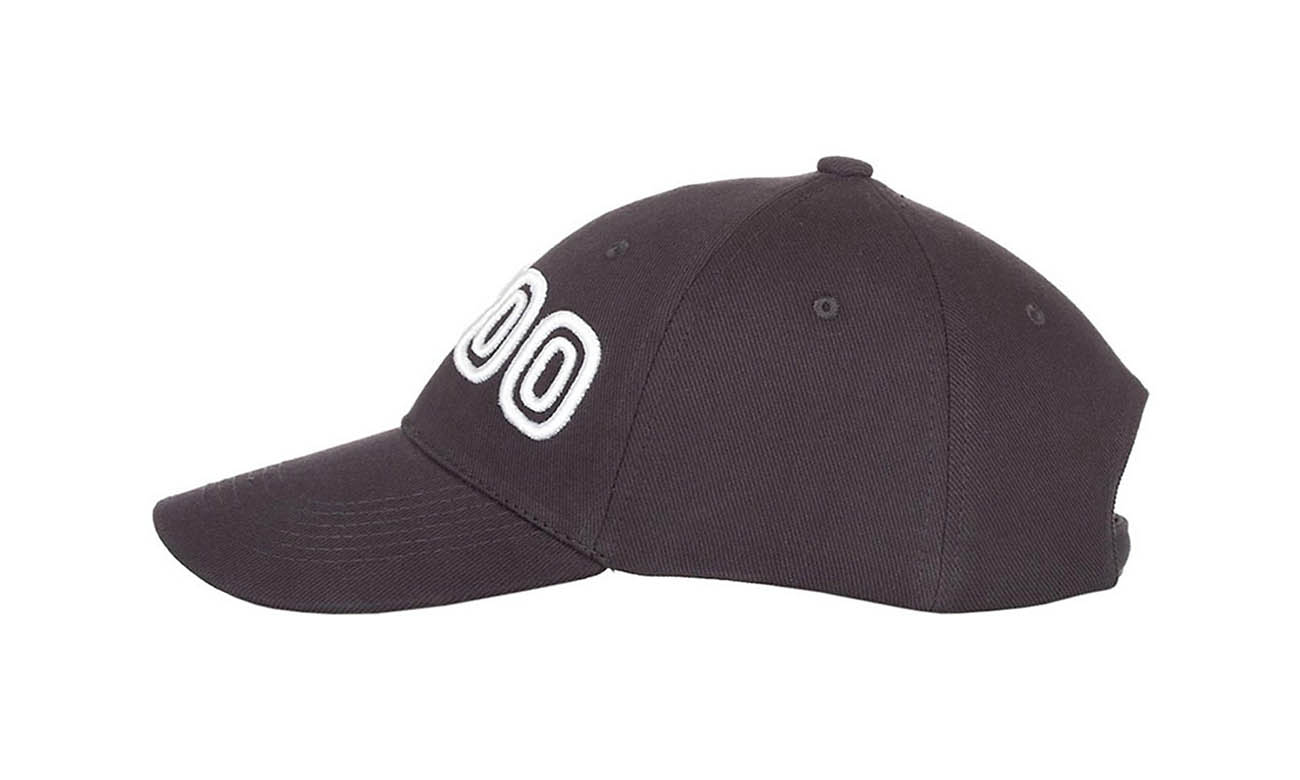 Basecaps T-300 Mousegray Seitlich Rechts