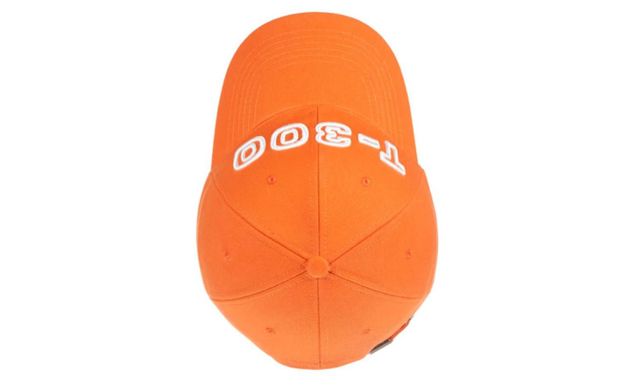 Basecaps T-300 Orange Oben