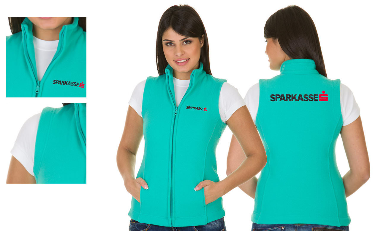 Fleece-Westen ST-405 Mint Damen