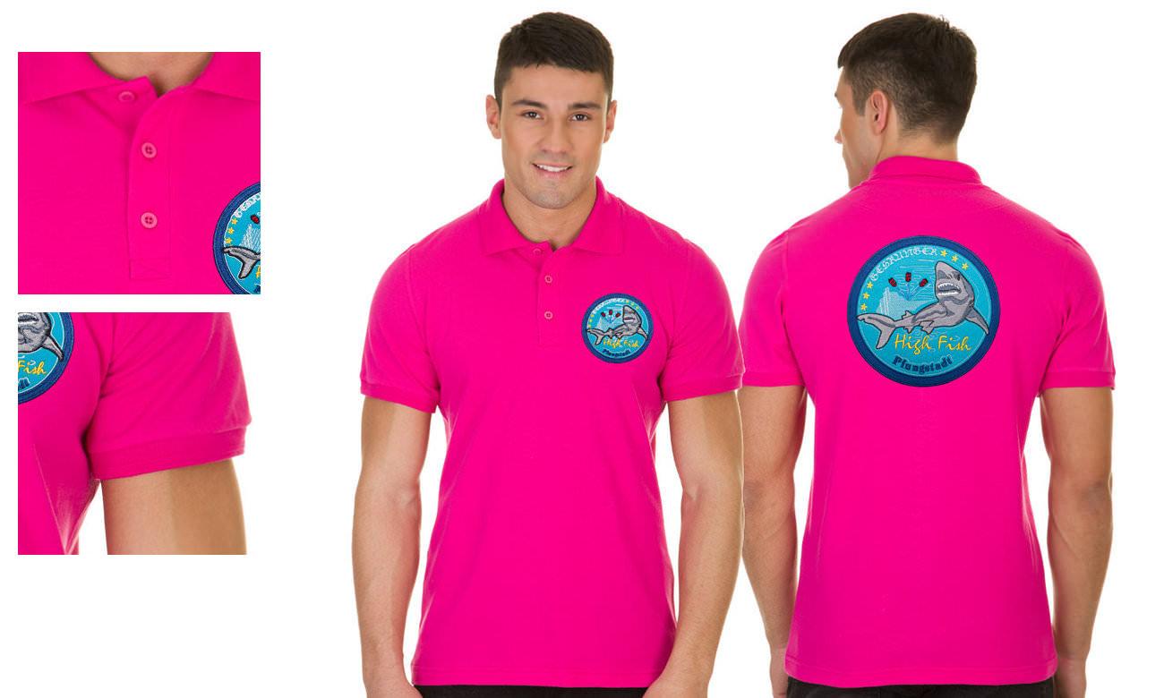 ... Poloshirts Standard Kurzarm ST-200 Pink Herren 55f0e4ad09