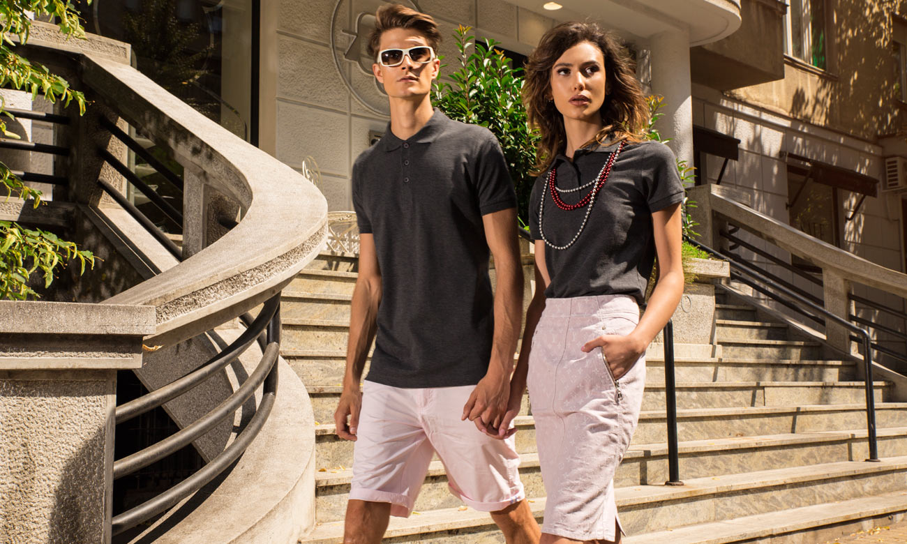 Poloshirts Standard Kurzarm ST-200 Shadow Fashion