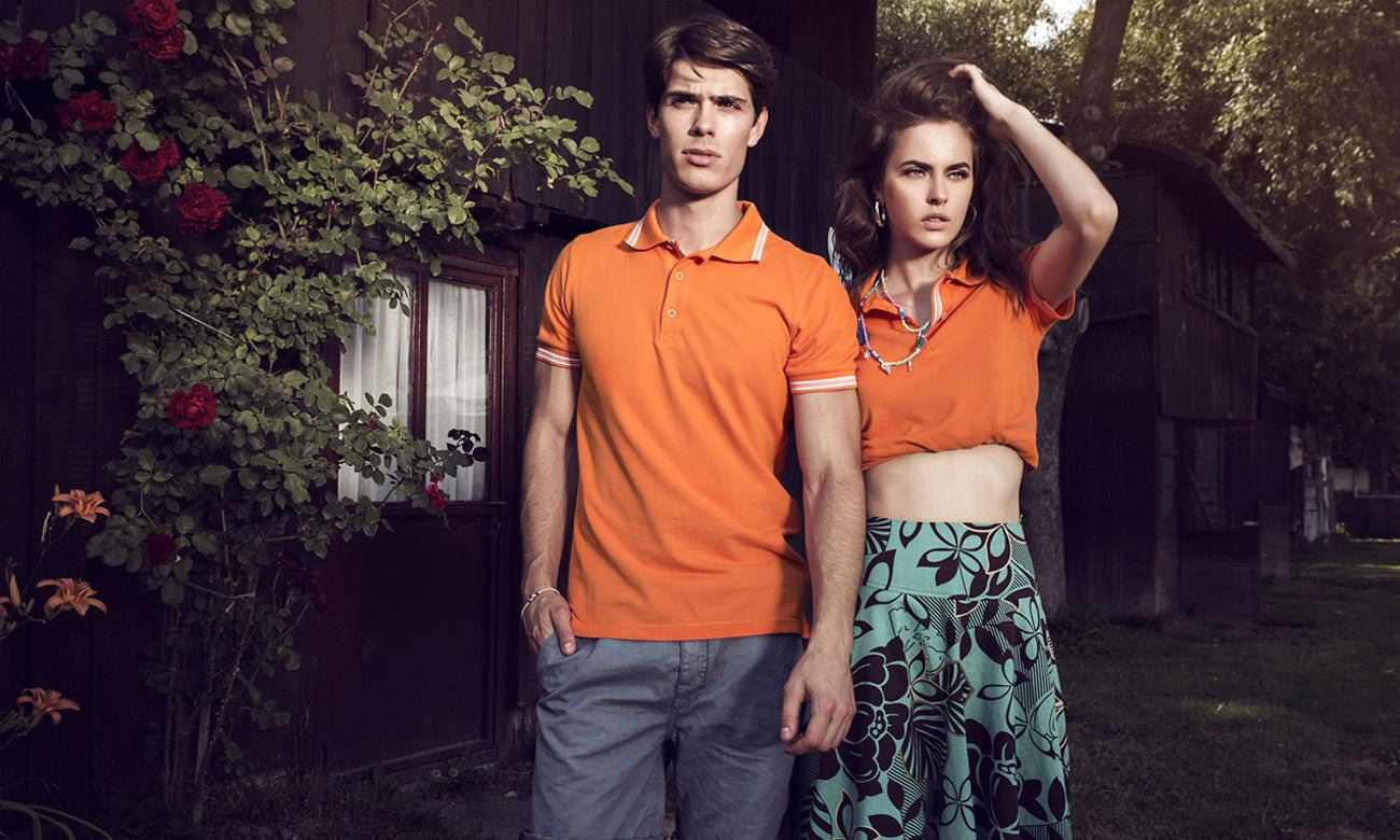 Poloshirts ST-205 Orange