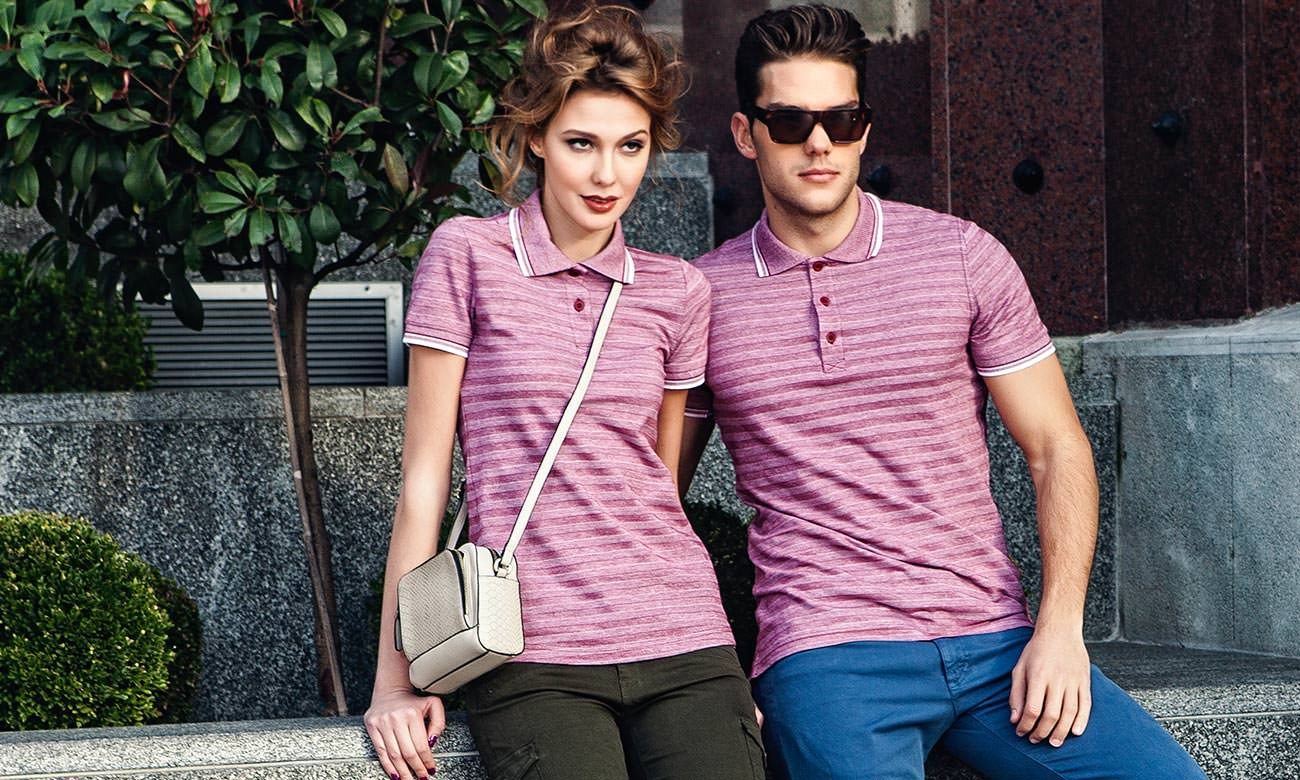 Poloshirts ST-220 Bordeaux Fashion