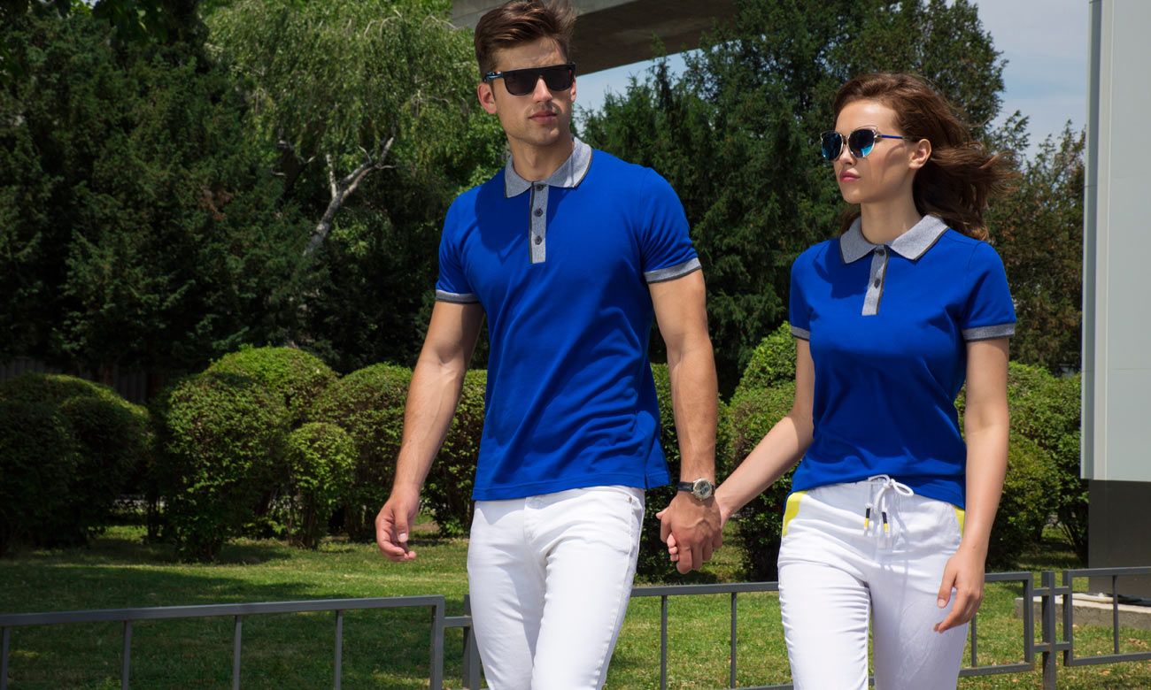 Poloshirts ST-255 Royalblau Fashion