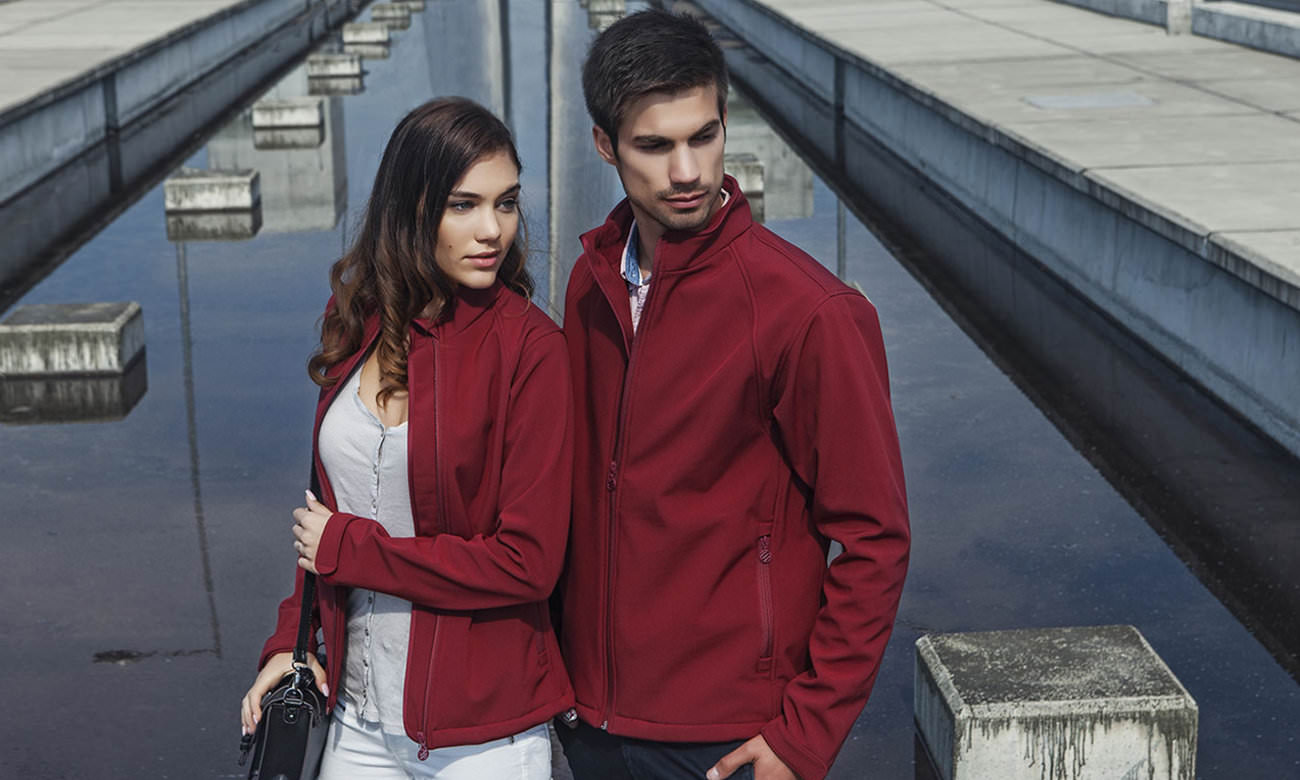 Softshell-Jacken ST-460 Bordeaux Fashion