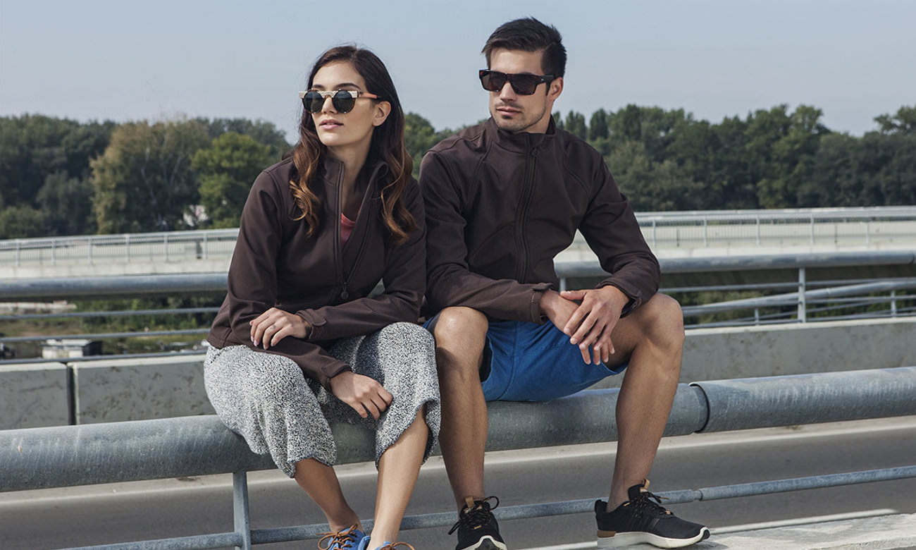 Softshell-Jacken ST-460 Braun Fashion