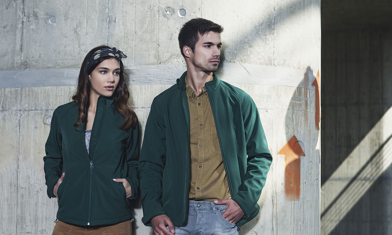 Softshell-Jacken ST-460 Dunkelgrün Fashion