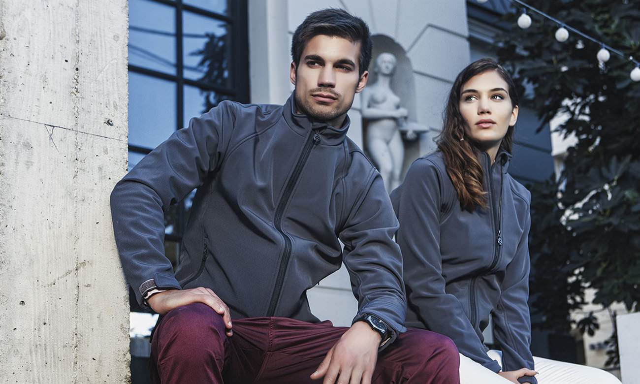 Softshell-Jacken ST-460 Mousegray Fashion