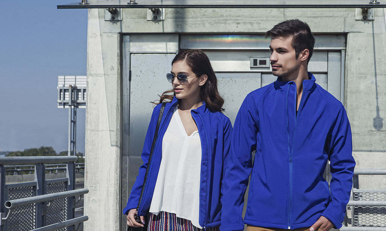 Softshell-Jacken ST-460 Royalblau Fashion