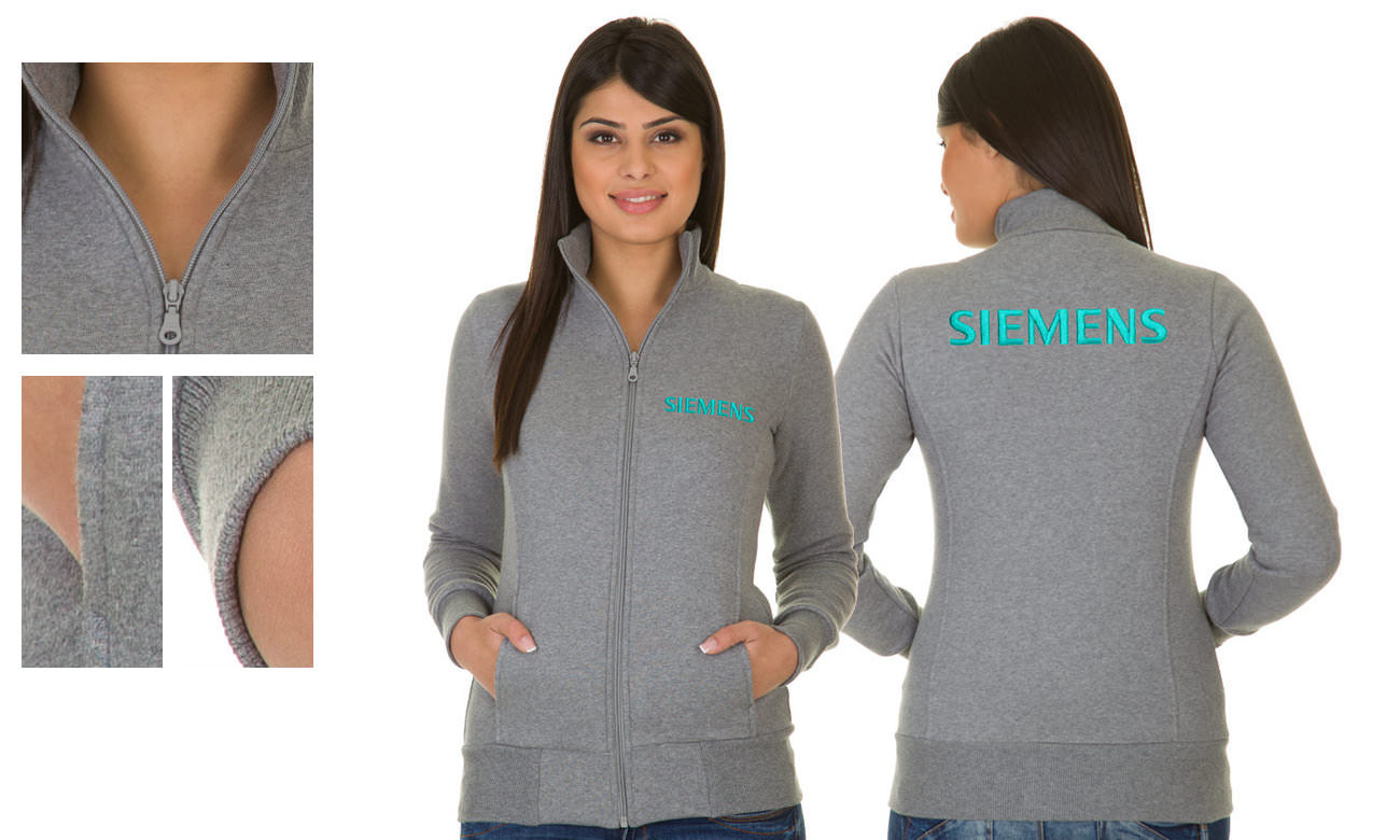 Sweat-Jacken ST-303 Anthrazit Damen