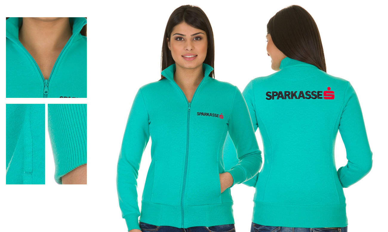 Sweat-Jacken ST-303 Mint Damen