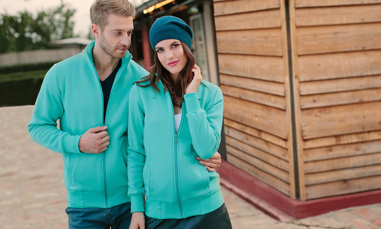 Sweat-Jacken ST-303 Mint Fashion