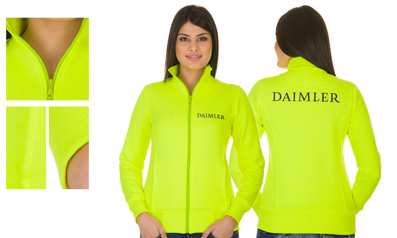 Sweat-Jacken ST-303 Neongelb Damen