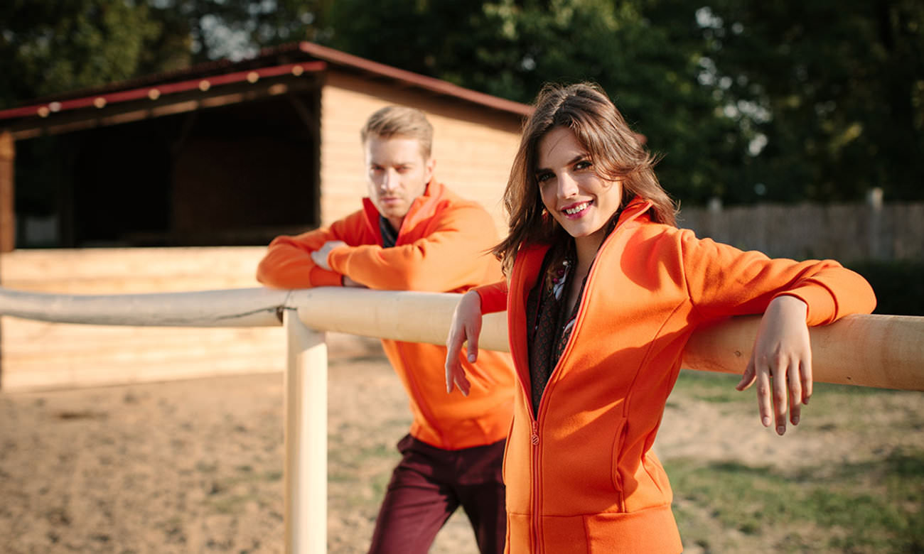 Sweat-Jacken ST-303 Orange Fashion