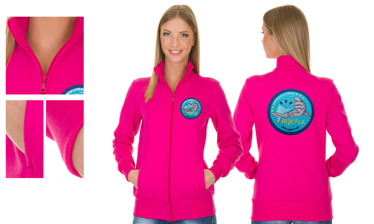 Sweat-Jacken ST-303 Pink Damen