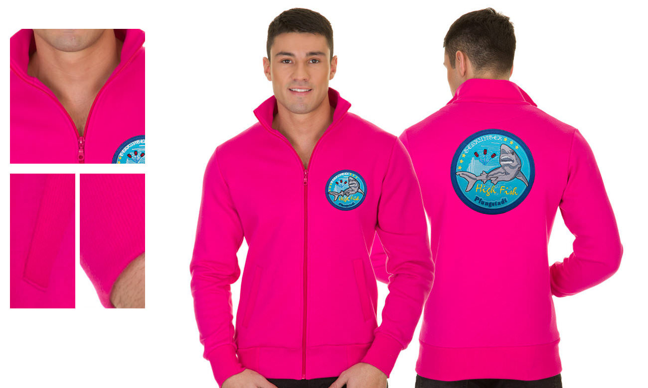 Sweat-Jacken ST-303 Pink Herren