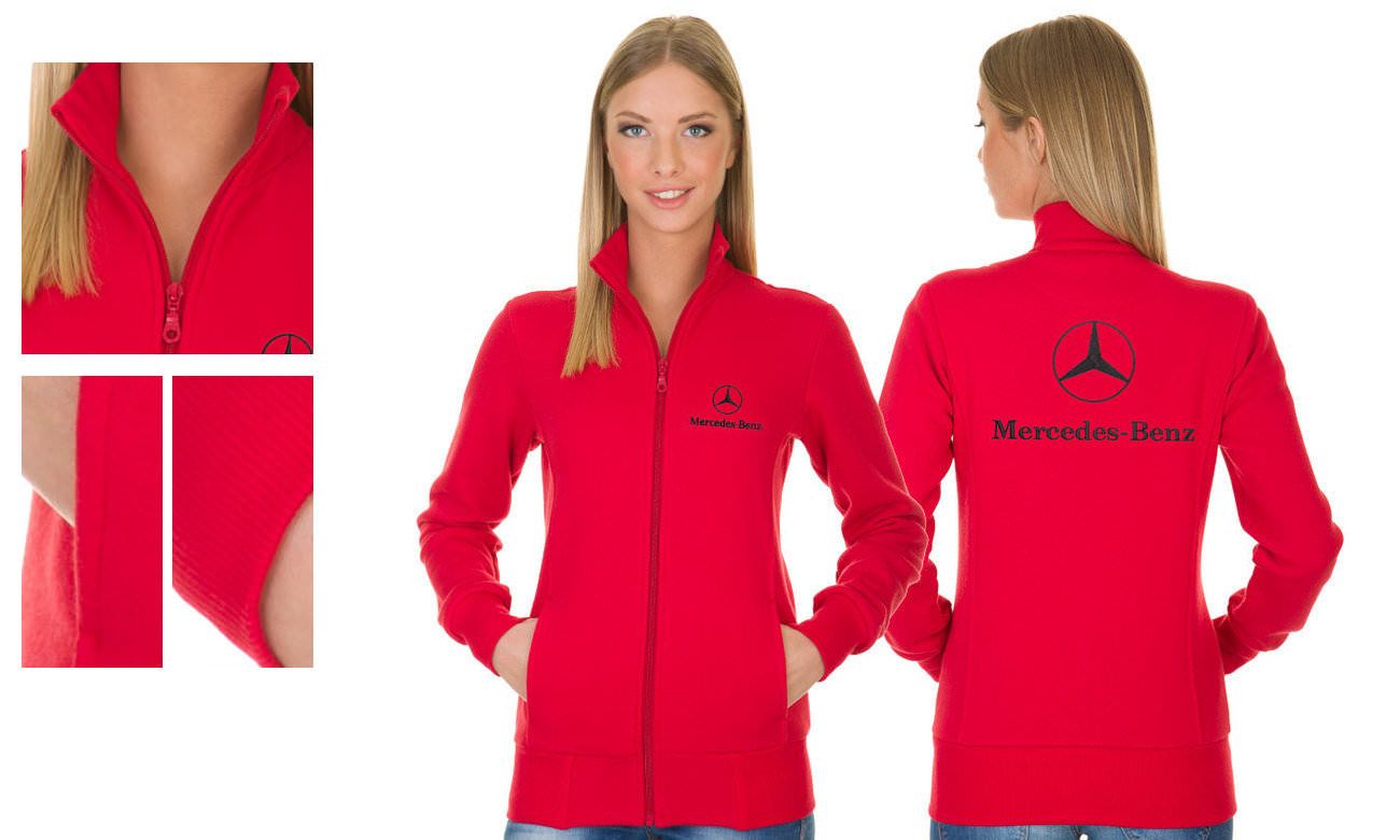 Sweat-Jacken ST-303 Rot Damen