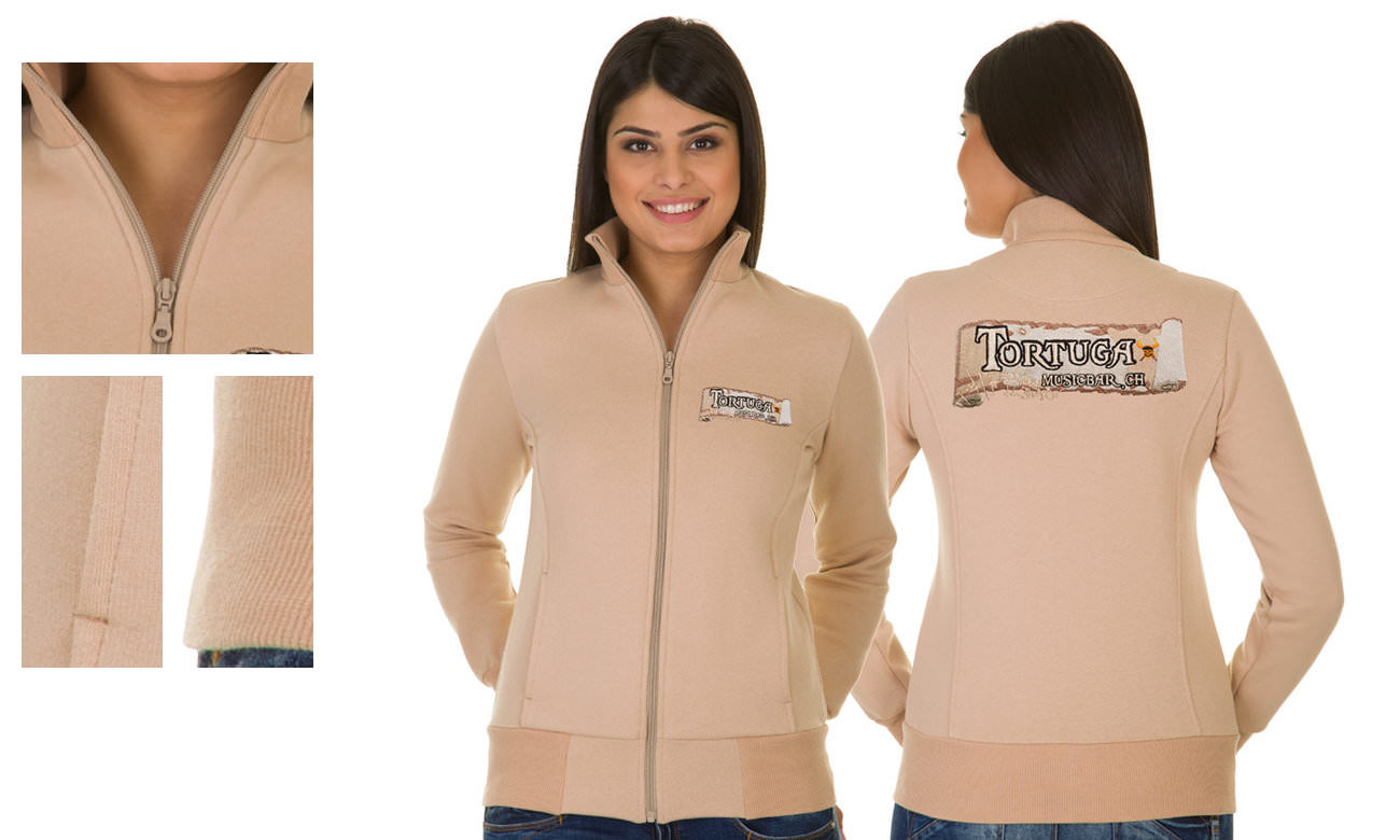 Sweat-Jacken ST-303 Sand Damen
